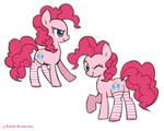 Pinkie pie knee socks