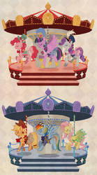 my little pony marry go round by kairean