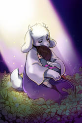 Toriel by kairean