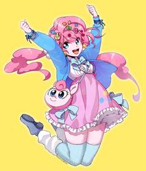 Equestria girls Decora Pinkiepie by kairean