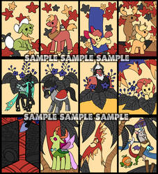 My little pony hanafuda 4 by kairean