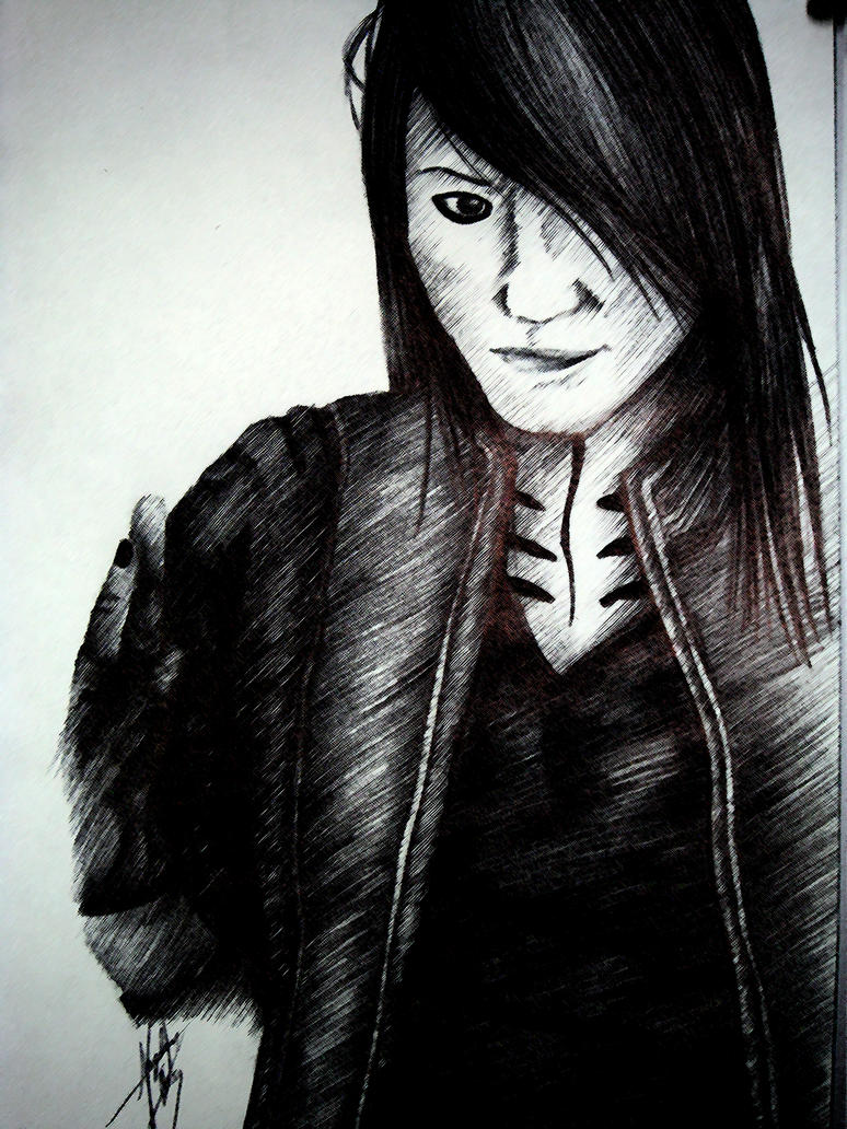 BVB- Ashley Purdy Pen Drawing by mokaart on DeviantArt