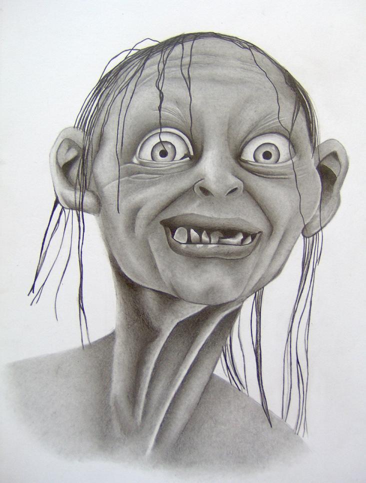 All Drawings Lord Of Rings Gollum