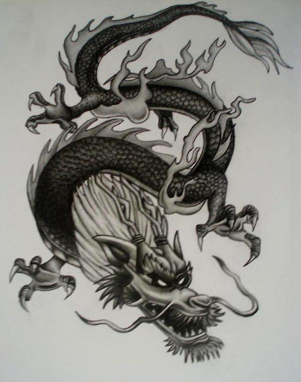 Chinese Dragon by MartijnPipoo on DeviantArt