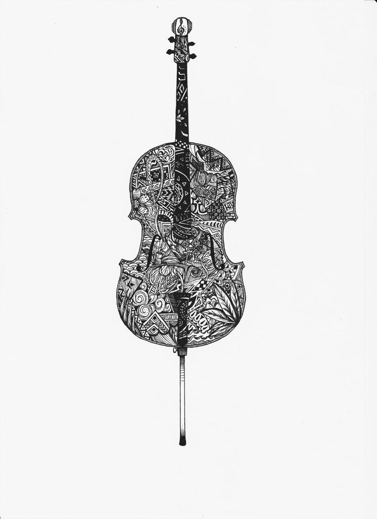 The Cello by limtzeyao