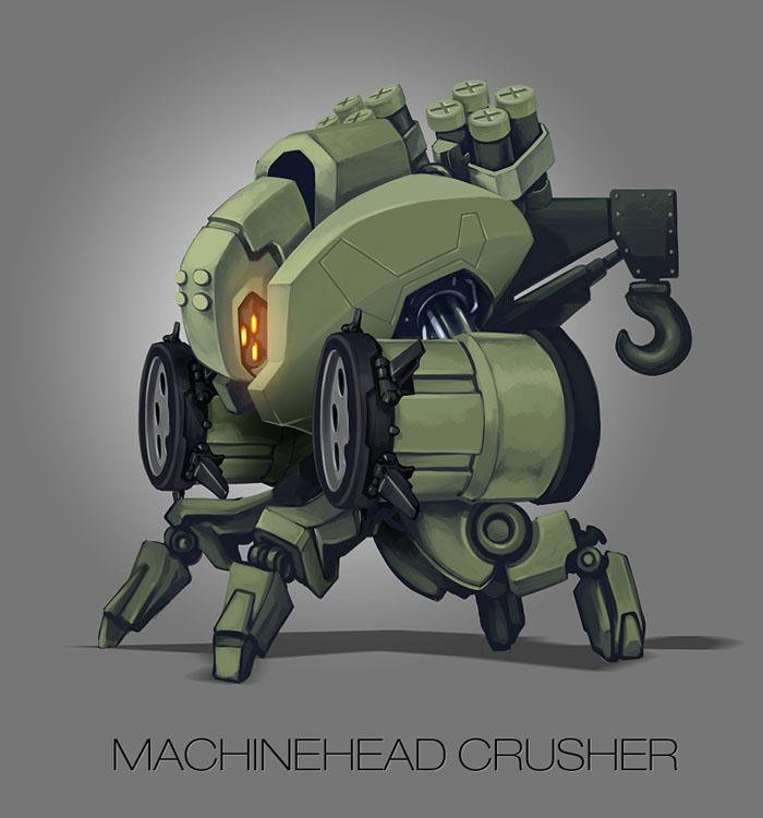 Machinehead crusher by skigfx