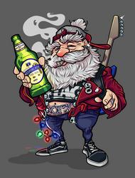 Punk Santa
