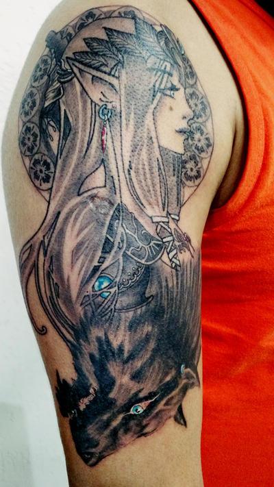 Zelda Twilight Princess Tattoo By Linkwolfshadow On Deviantart