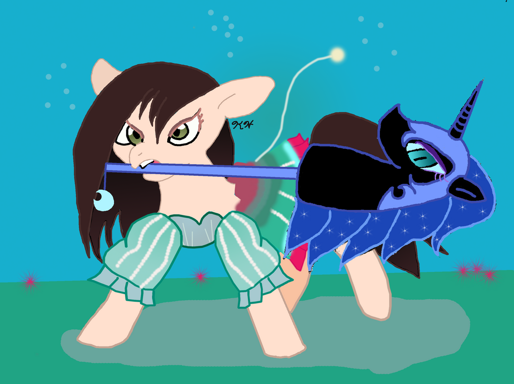 Alice Madness Return Underwater (Pony version) by minty42