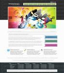 web 2.0 design agency layout