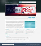 Web2.0 Design Agency Layout 2