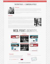 Web 2.0 TYPOGRAPHY PORTFOLIO by CameronLayfield
