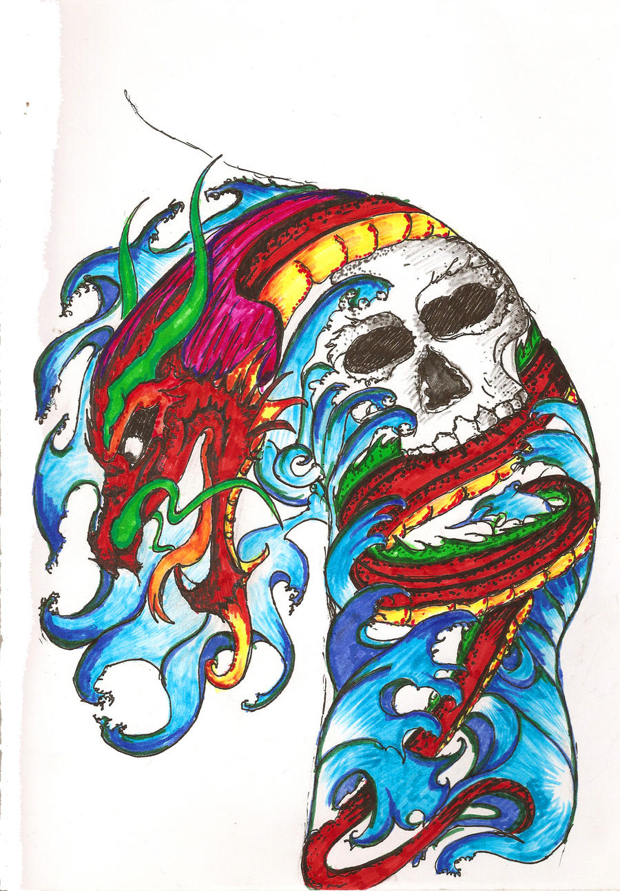 wallpaper tattoo colourful - photo #11