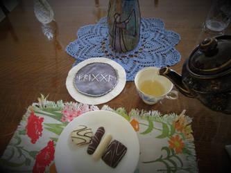 Linden Tea Ritual for the Goddess Frigga