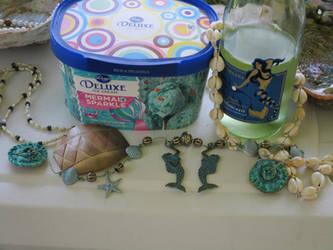 Mermaid Party heathen altar 9 Mothers