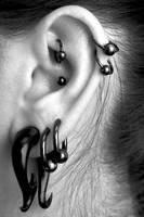 Ear Piercing I by jc-arwin