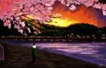 Sunset 4 (Togetsu-Kyo)