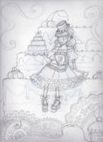 Pastry Candy Girl by Lolli-Tea