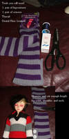 Make a BJD Sweater our of Legwarmers!