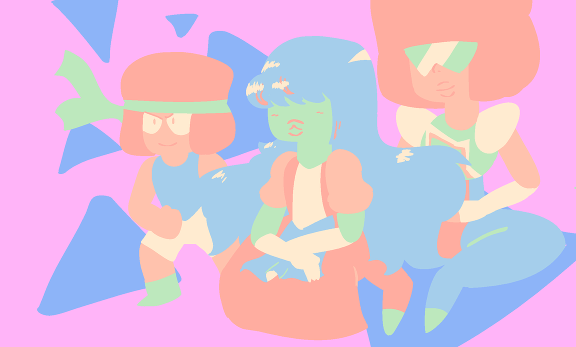 Pastel palette ruby and sapphire by theawkwardnoob on deviantart - Pastell wandfarben palette ...