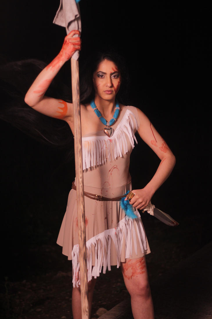 Twisted Princess Pocahontas Inspired by nikkipandahat