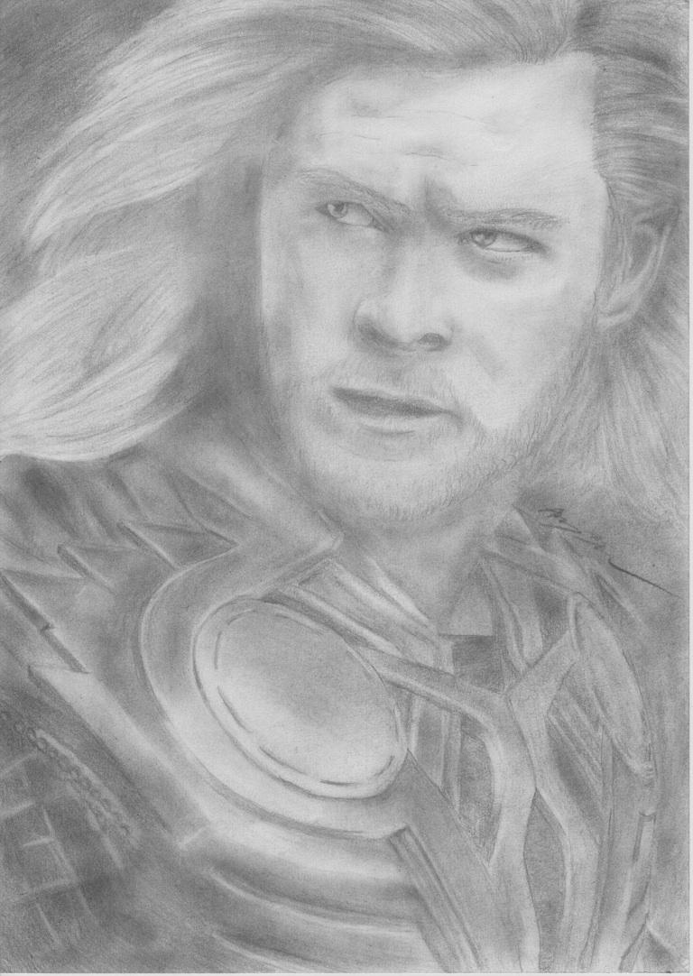 Thor by SalvainKarnan