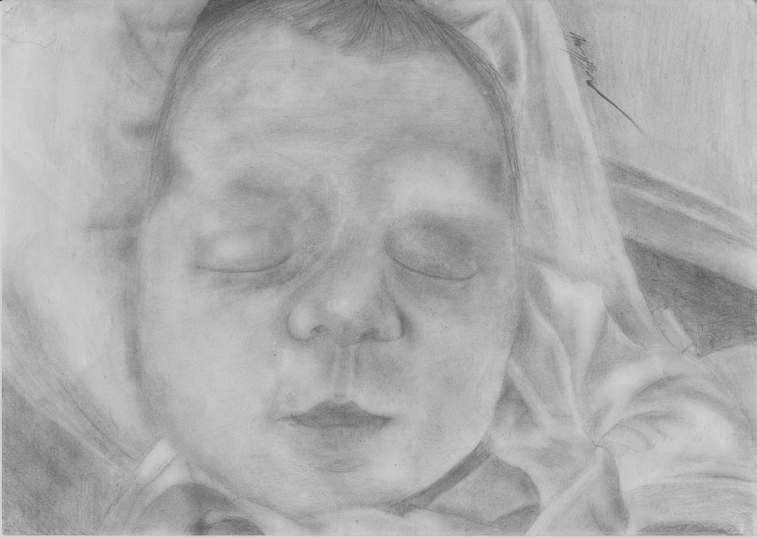 Baby Skyla Commission by destructiveempathy