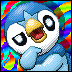Piplup Icon 72x72 by SkyTheVirus