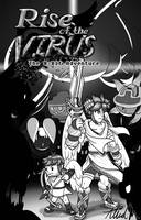 Rise of the Virus  Vol 1  Cover Page by SkyTheVirus