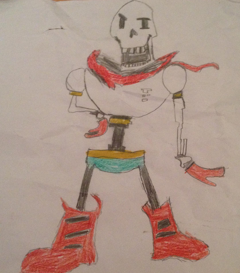 Papyrus by TheEpicGamer3000