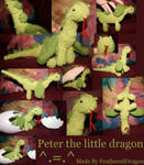 Crochet Dragon: Peter