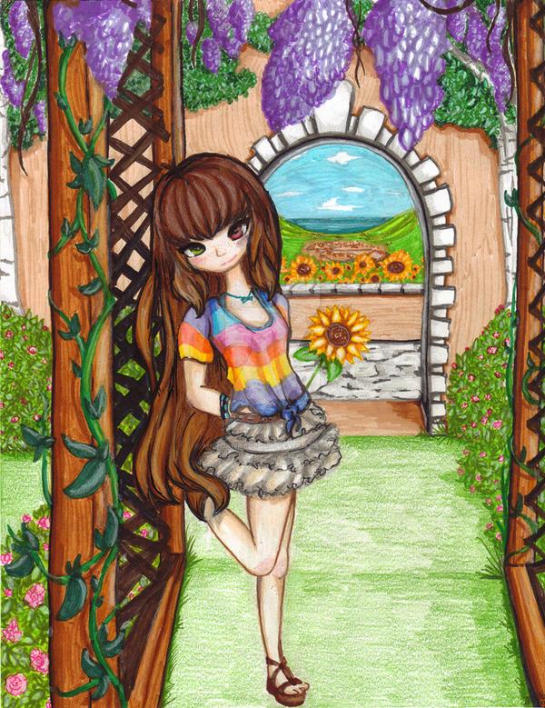 Sunflowers by m0rganrebecca