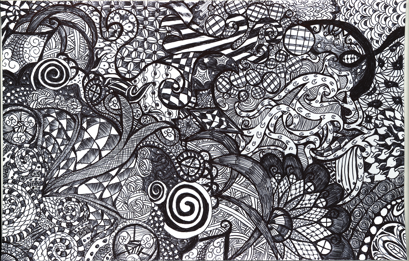 Zentangle by m0rganrebecca