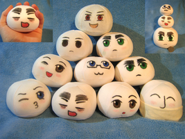 Character Mochis For Sale~! by ThePlagueRaven