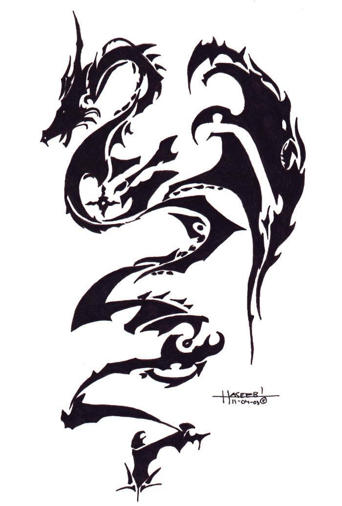 Dargon tatoo by hippsipp