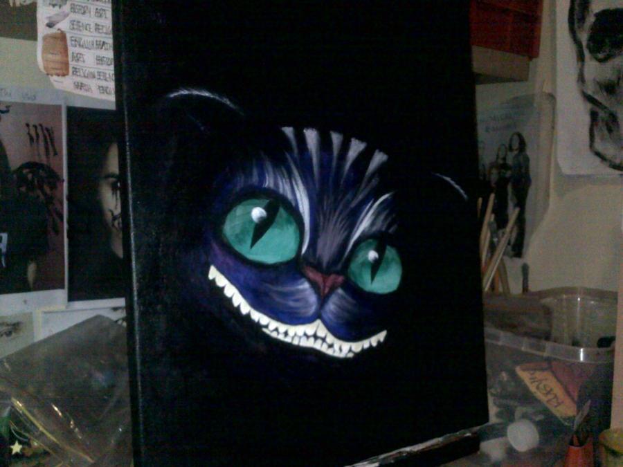Alice In Wonderland Cat by frankwaygerardiero