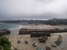Gray sky over Cornwall by Convict187