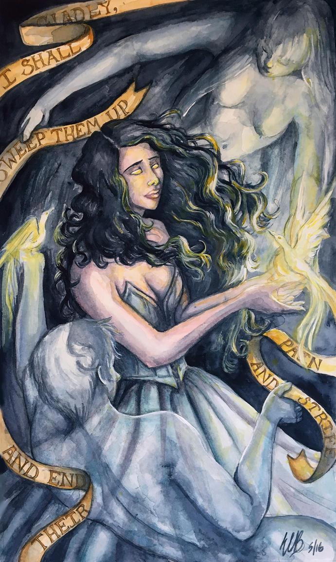 Darkness Lady by ebjeebies