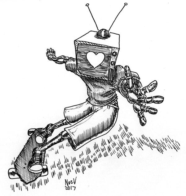 TV Skate by Big-Mex