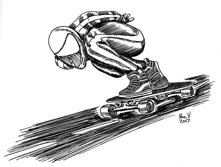 Downhill Domination by Big-Mex