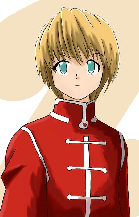 Kurapika In Red By KitsuneInari