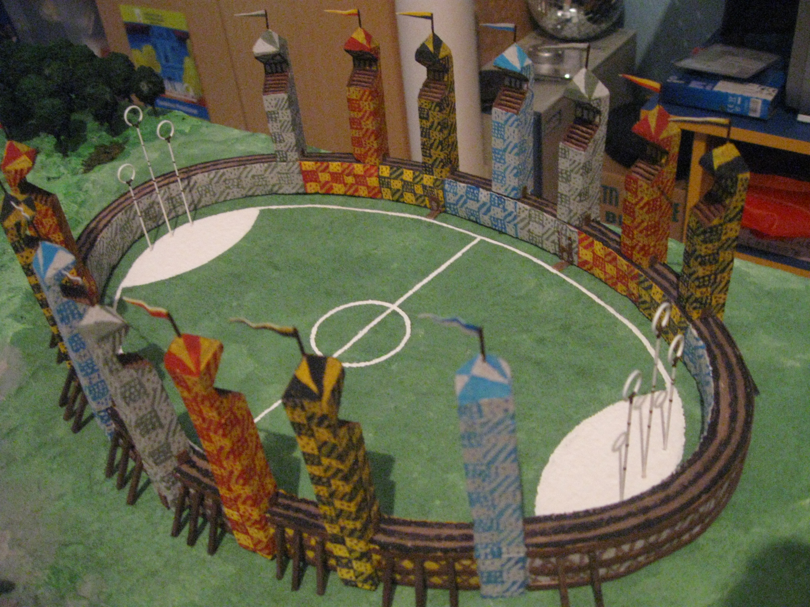 House Design Games Like Sims My Quidditch Pitch Model By Sandrinop On Deviantart
