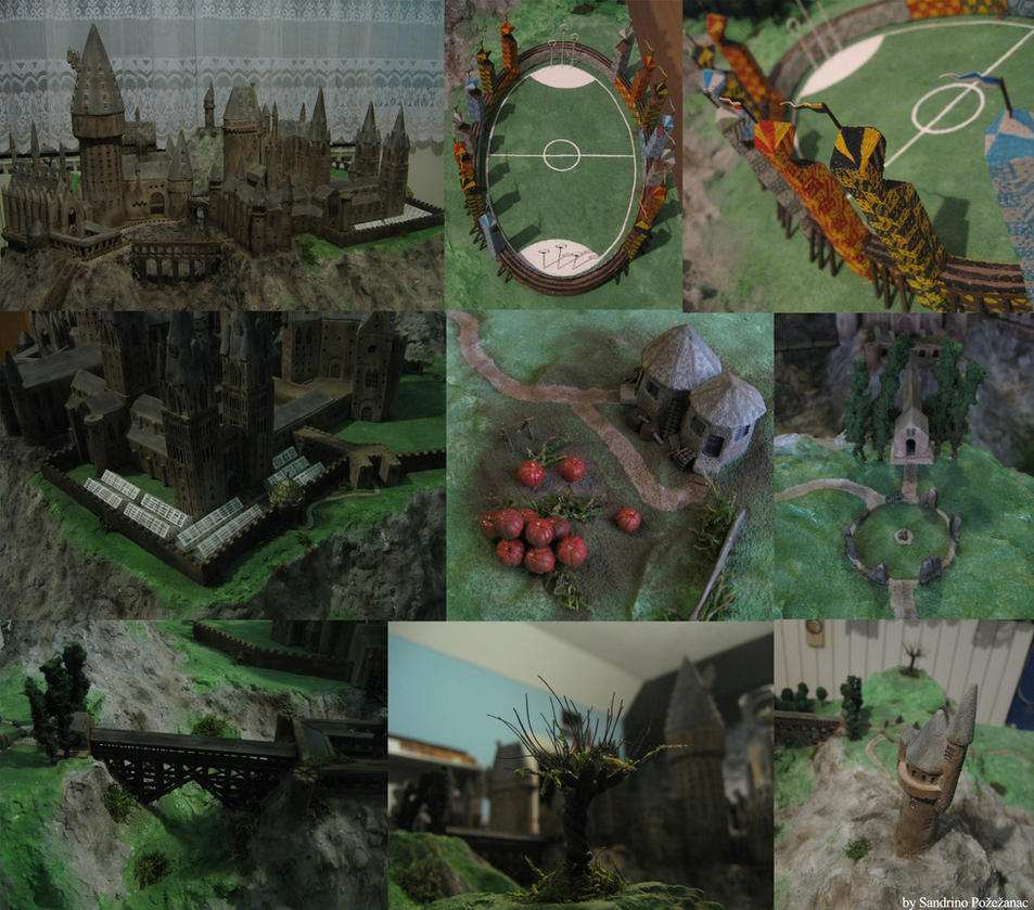 My Hogwarts model by SandrinoP