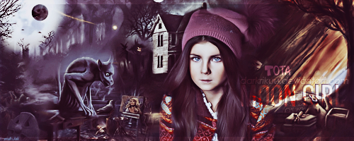Moon Girl ~ by DarkRikuu