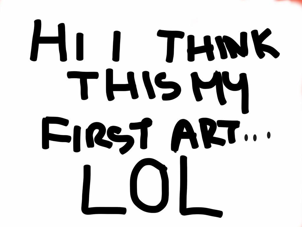 My first art... by MileeneAngel