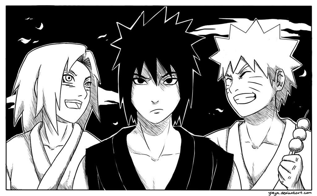 _Grumpy Sasuke_ by yleyn