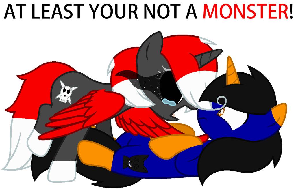I'm a MONSTER! by KittyStar9