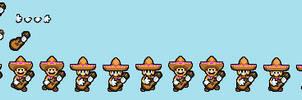 Mario Odyssey - Mexican/Amigo Mario dance sprites