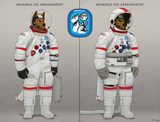 Krhainos Spacesuit by stucat