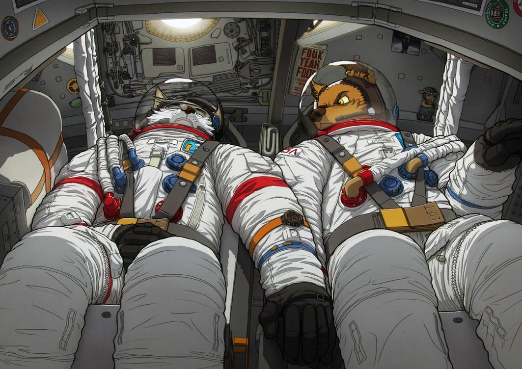 Napstronaut by stucat
